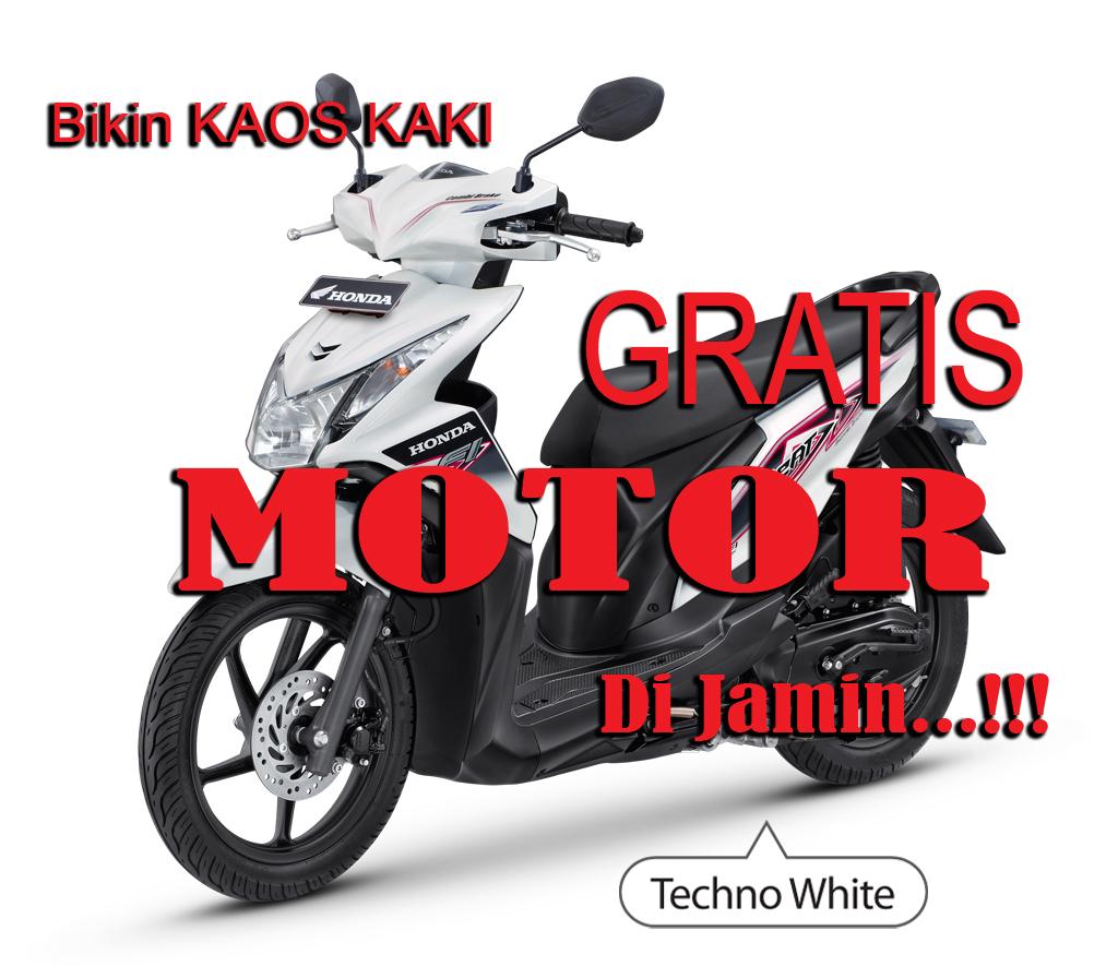 Bikin Kaos Kaki Gratis Motor