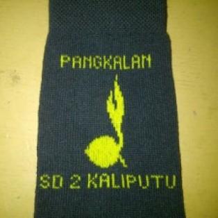 Kaos Kaki Hitam Logo